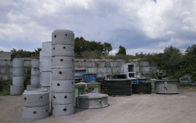 Blocchi prefabbricati cemento