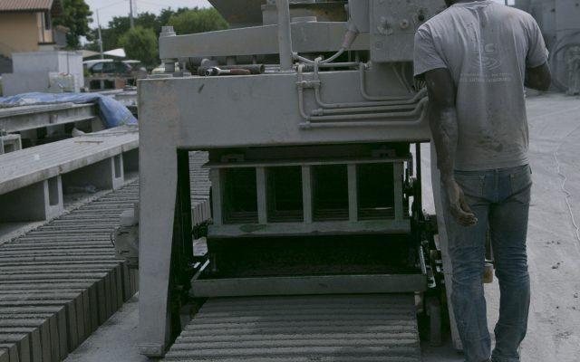 Mic Basile - lavorazione cemento a Catania